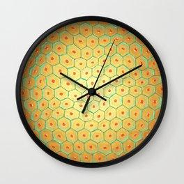 Skin anatomy Wall Clock
