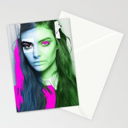 Woman N71 Stationery Cards