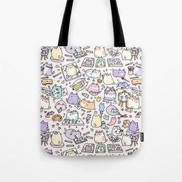 Artsy Cats Tote Bag