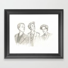 Someone call for a doctor? Framed Art Print
