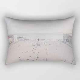 Urban Silence Rectangular Pillow