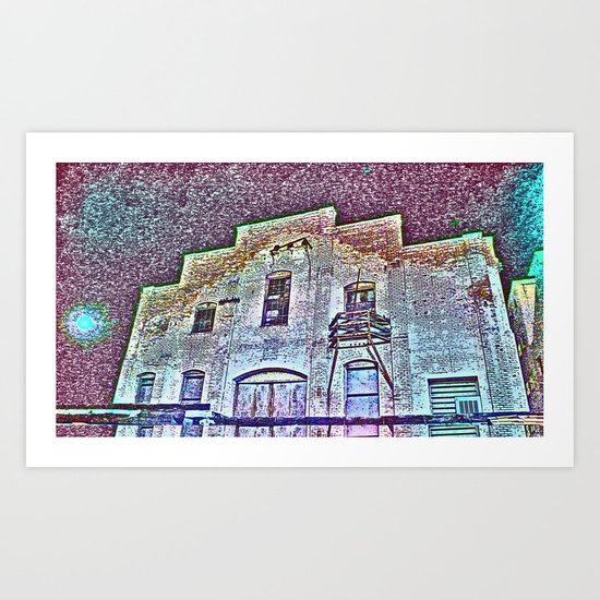 time (in the past) Art Print