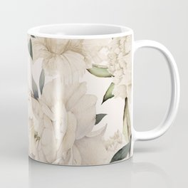 Peonies Pattern Coffee Mug