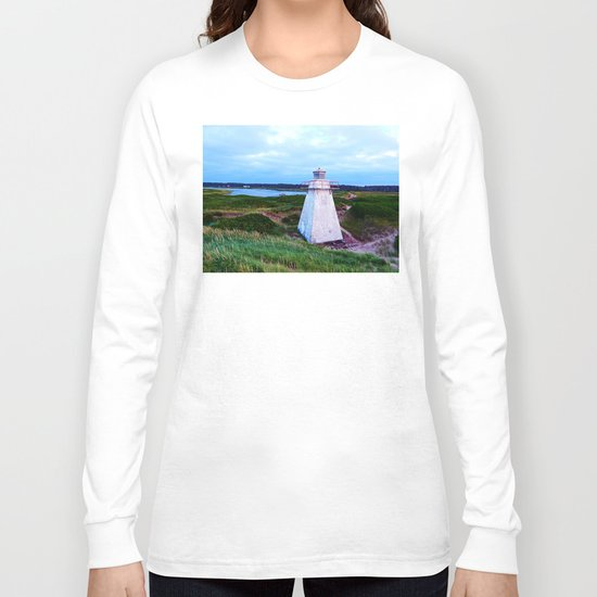 St-Peter's Harbour Lighthouse Long Sleeve T-shirt