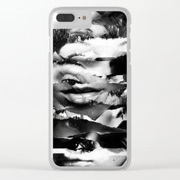 Shadow of a Doubt Clear iPhone Case