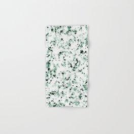 Green Terrazzo Hand & Bath Towel