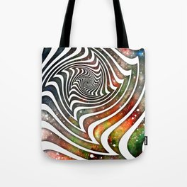 Pouring Dimensions into the Distal Void Tote Bag