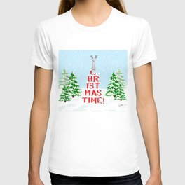 CHRISTMAS TIME WEIMARANER T-shirt