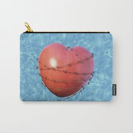 Barb Wire Heart - Coeur Barbelé Carry-All Pouch