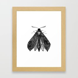 The Moth and All His Friends Framed Art Print