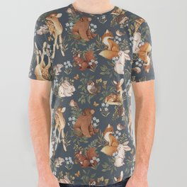 Woodland Dreams All Over Graphic Tee