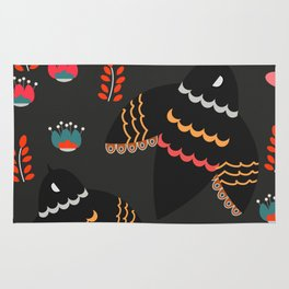 Whimsy flight Rug