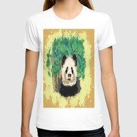 splatter T-shirts featuring Splatter Panda by grapeloverarts
