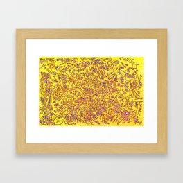 Raspberry Lemonade Framed Art Print