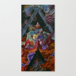 The mysterious land of truth and failures Canvas Print