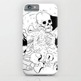diggin up bones iPhone Case