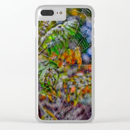 Webby. Clear iPhone Case