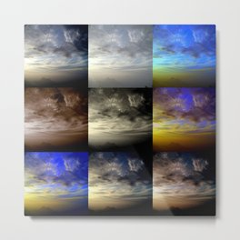 Under the same Sky. Metal Print