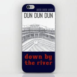 down by the river iPhone Skin