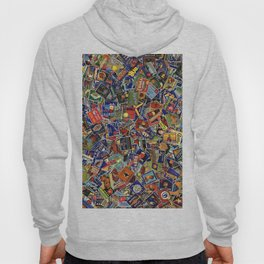 Fruit Crate Collage Hoody