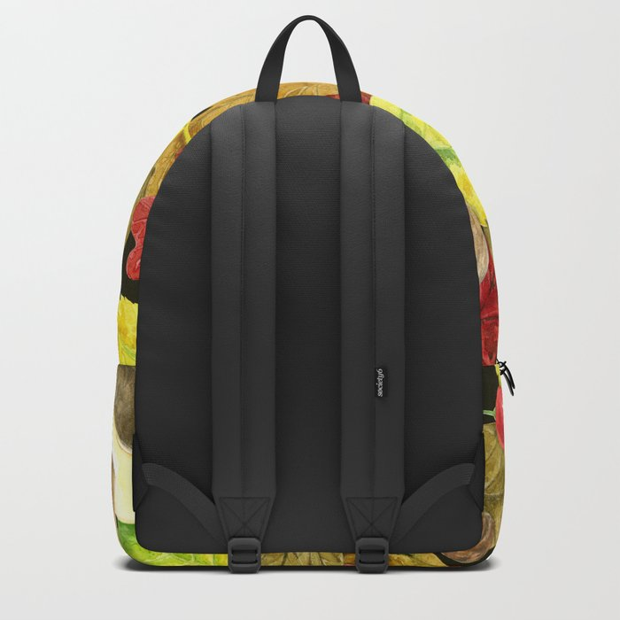 Watercolor autumn pattern Backpack