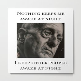 Mattis - Nothing Keeps Me Awake Metal Print