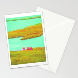 Outerbanks, NC sound and kayaks Stationery Cards