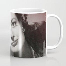 Joan Crawford Collage Portrait Coffee Mug