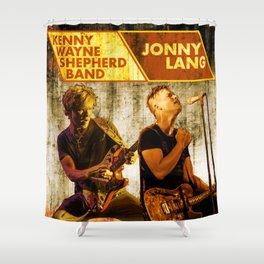 JONNY LANG KENNY WAYNE SHEPHERD BAND TOUR DATES 2019 FIZI Shower Curtain