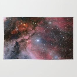The Carina Nebula, Wolf–Rayet star WR 22 Rug