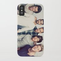 one direction iPhone & iPod Cases featuring One direction by kikabarros