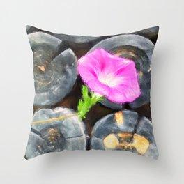 just a lovely flower Throw Pillow