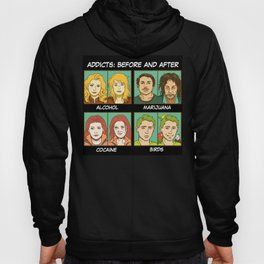Bird addicts meme Hoody
