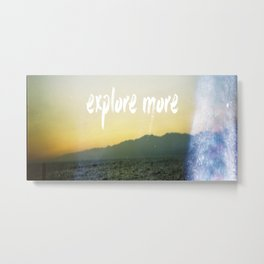 Explore more 2.0 Metal Print