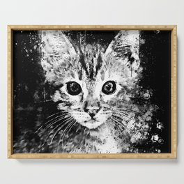 cat years wsbw Serving Tray
