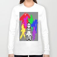big hero 6 Long Sleeve T-shirts featuring Big Hero 6  by grapeloverarts