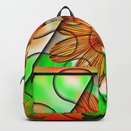 Trapped Daisy Backpack