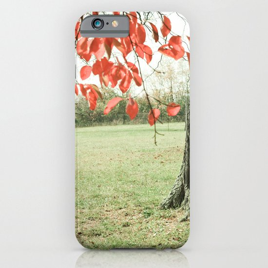 Autumn Red iPhone & iPod Case