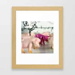 I am Better Framed Art Print