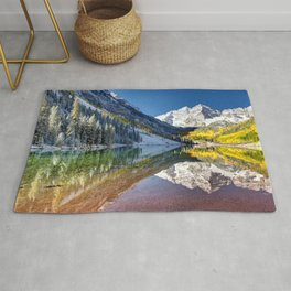Maroon Bells Colorado Rug