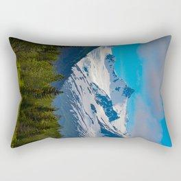 Bear_Creek Mountain Glacier - Alaska Rectangular Pillow