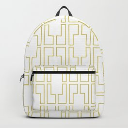 Simply Mid-Century in Mod Yellow Backpack