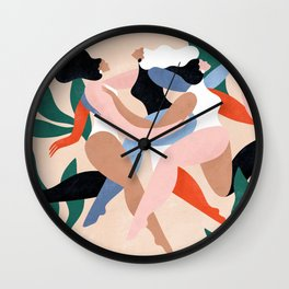 Take time to dance Wall Clock