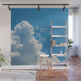 The Sky's the Limit Wall Mural