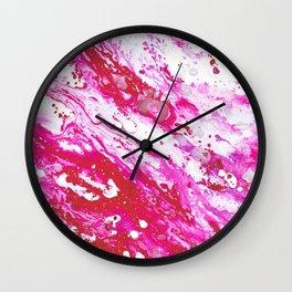 Rose Quartz 1 Wall Clock