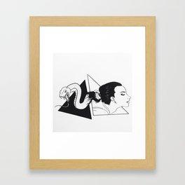 Sins Framed Art Print