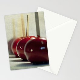 Candy Apples Stationery Cards