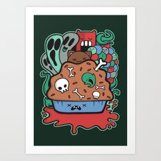 Muffin of Death Art Print