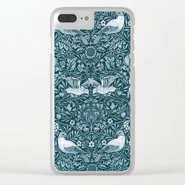 """William Morris """"Birds"""" 2. Clear iPhone Case"""