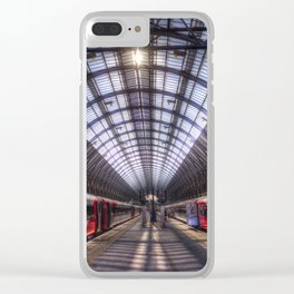 Kings Cross Station London Clear iPhone Case
